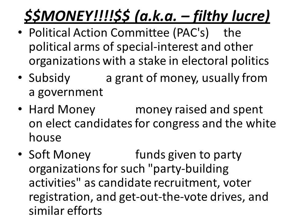$$MONEY!!!!$$ (a.k.a.