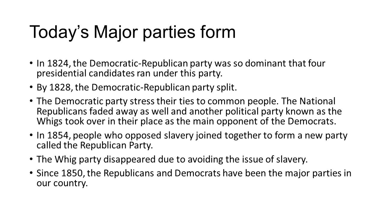 Who are Third parties?What types of third parties have existed.
