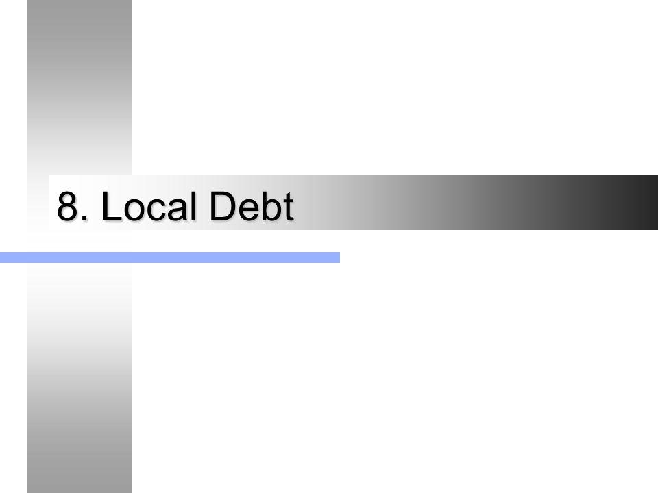 8. Local Debt