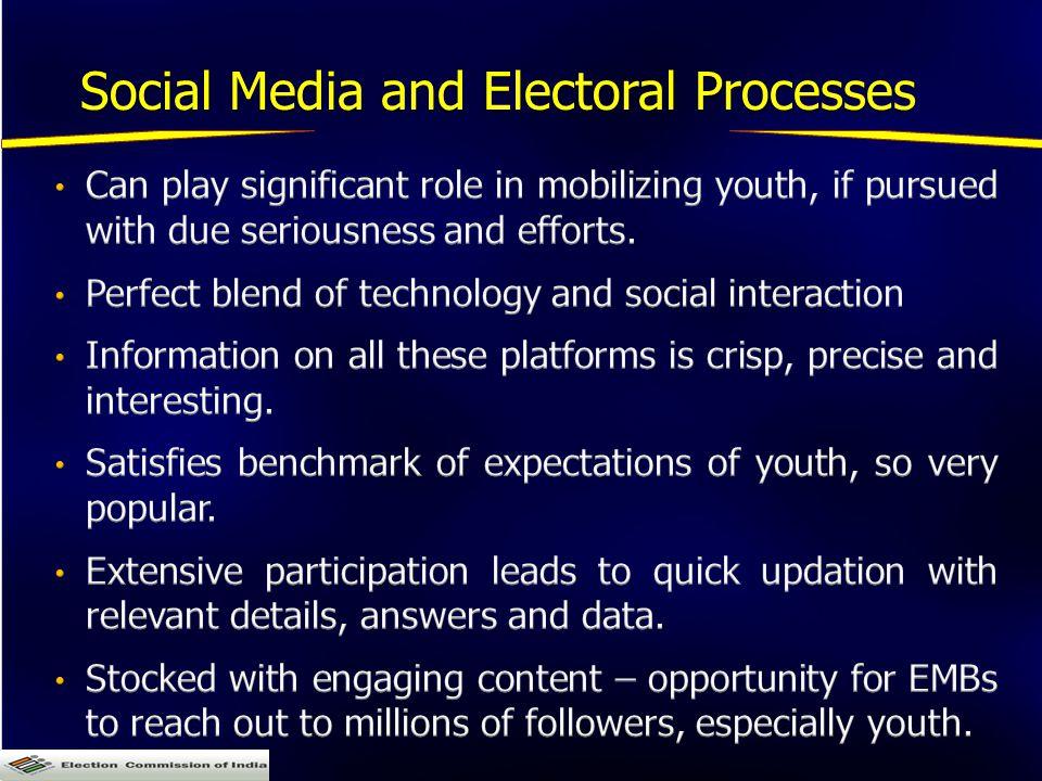 Social Media and Electoral Processes