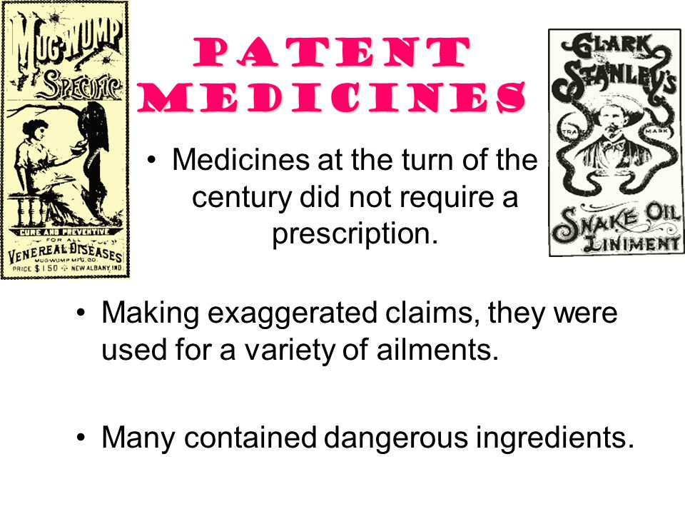 Social Reform Examples 5. Safer Medicines –Restriction of Harmful Drugs –Proper Labeling –Government Approval of Future Drugs/Medicines