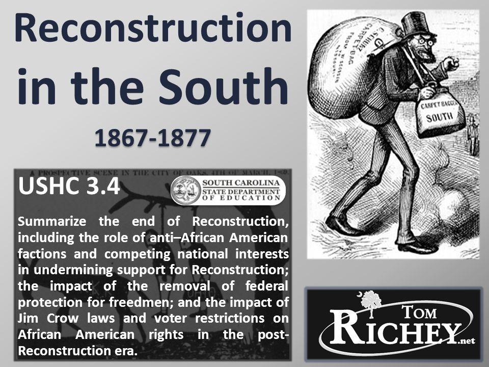 RECONSTRUCTION AMENDMENTS: 13 14 15