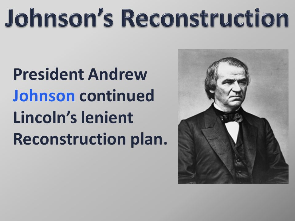 Congress overrode all of Johnson's vetoes of the Reconstruction Acts.