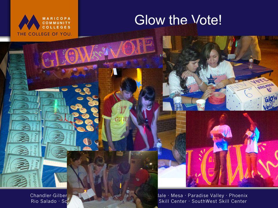 Glow the Vote!