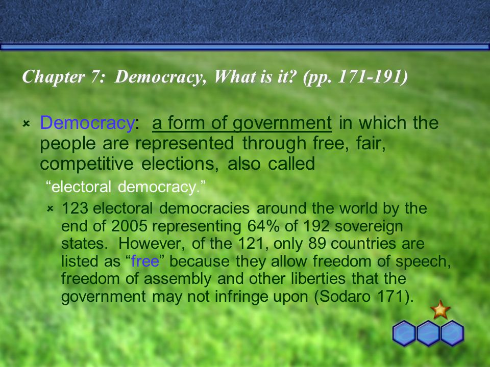 Single-Party Majoritarian Government:  One party wins an absolute majority of seats in the national legislature and forms the government.