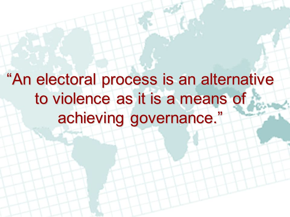 OPERATIONAL TRAINING Intensive training of temporary staff before every electoral event is a critical element of electoral service delivery and staff performance.
