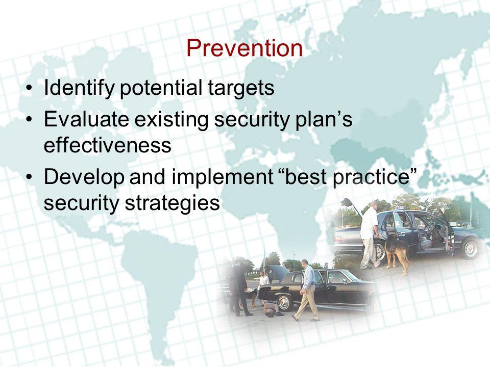 Prevention (Cont'd.) Adapt security measures Analyze response