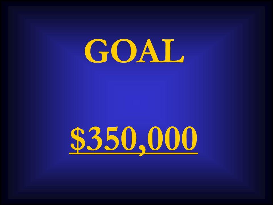 GOAL $350,000