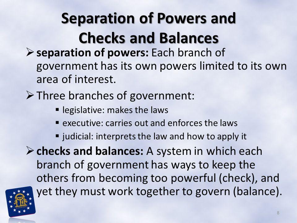 Checks and Balances 9