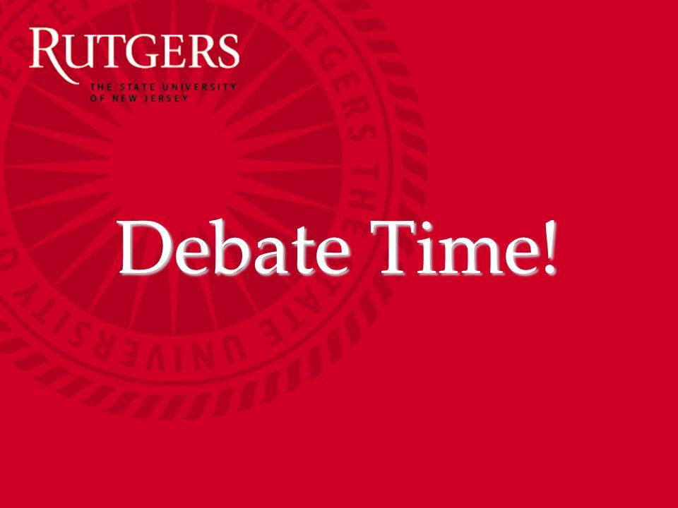 Debate Time!