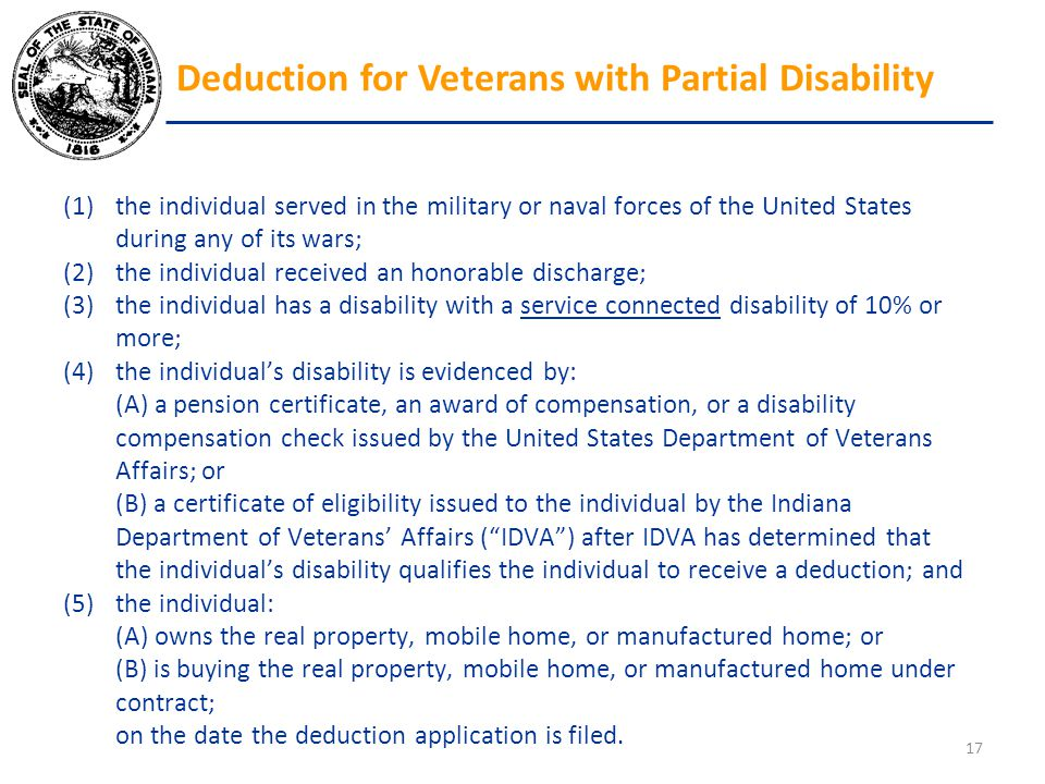 (1)the individual served in the military or naval forces of the United States during any of its wars; (2)the individual received an honorable discharg