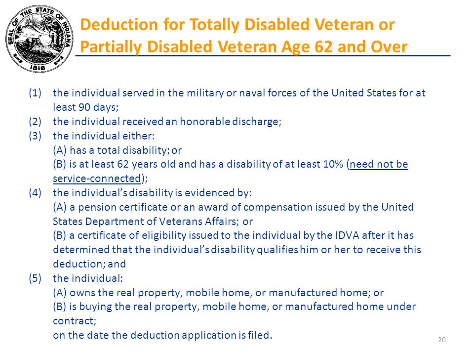 (1)the individual served in the military or naval forces of the United States for at least 90 days; (2)the individual received an honorable discharge;