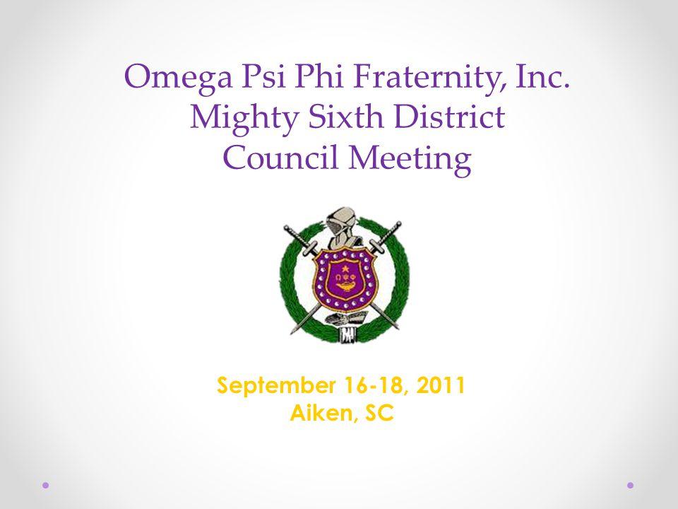 Omega Psi Phi Fraternity, Inc.