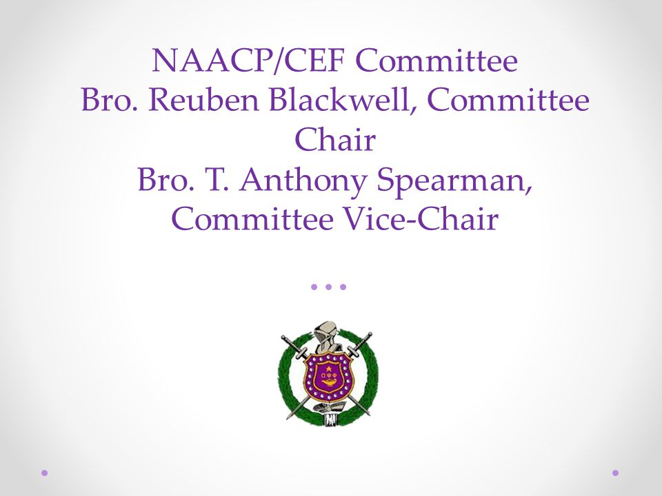 Present the 6th District-adopted Hooks Resolution to the NC & SC State Conference of Branches of the NAACP.