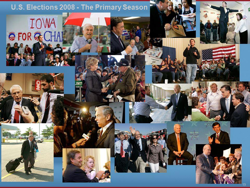 U.S. Elections 2008 - The Primary Season 19
