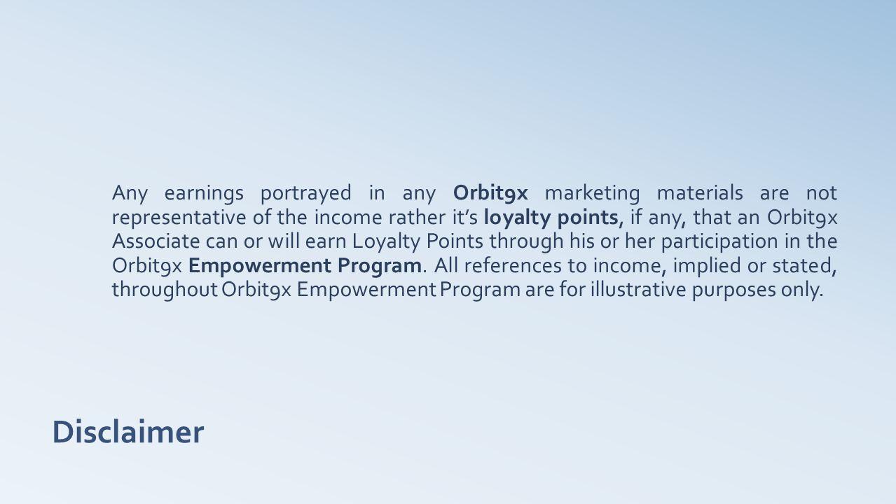 Business Opportunity www.orbit9x.com