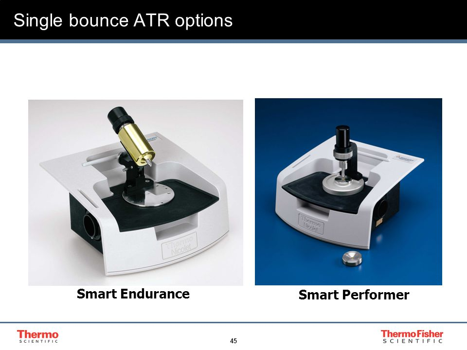 45 Single bounce ATR options Smart Endurance Smart Performer