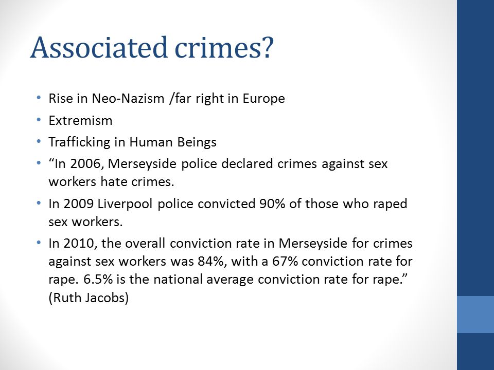 Associated crimes.