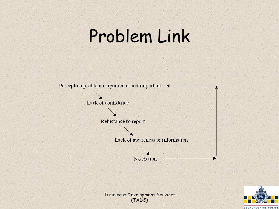 Problem Link Training & Development Services (TADS)