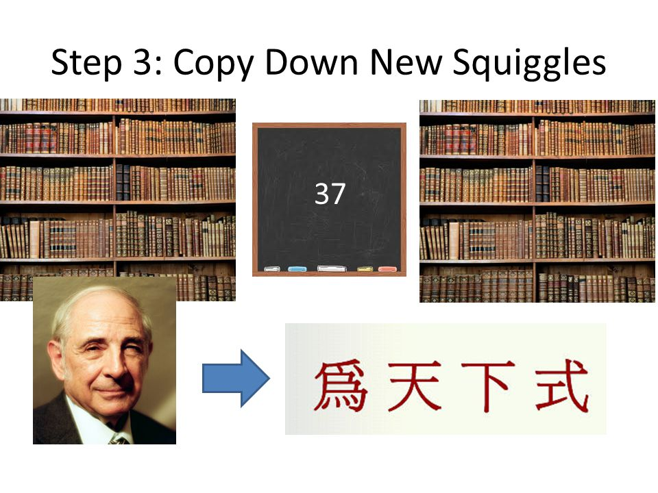 Step 3: Copy Down New Squiggles 37