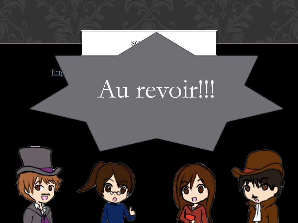 http://www.gutenberg.org/files/1260/1260-h/1260-h.htm The novel Jane Eyre by CHARLOTTE BRONTË SOURCES: Au revoir!!!