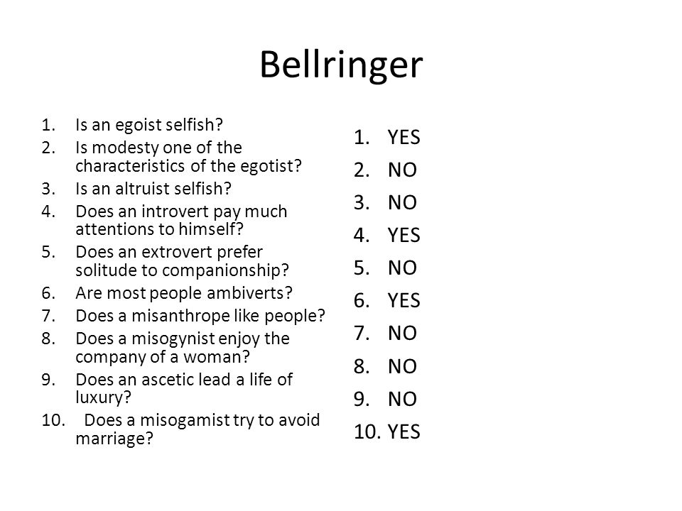 Bellringer - Thursday 1.Can ambidextrous people use either the left of right hand equally well.