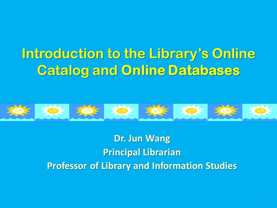Gauging Your Learning Outcome 1.How to log on to SJDC library's online databases on and off campus.