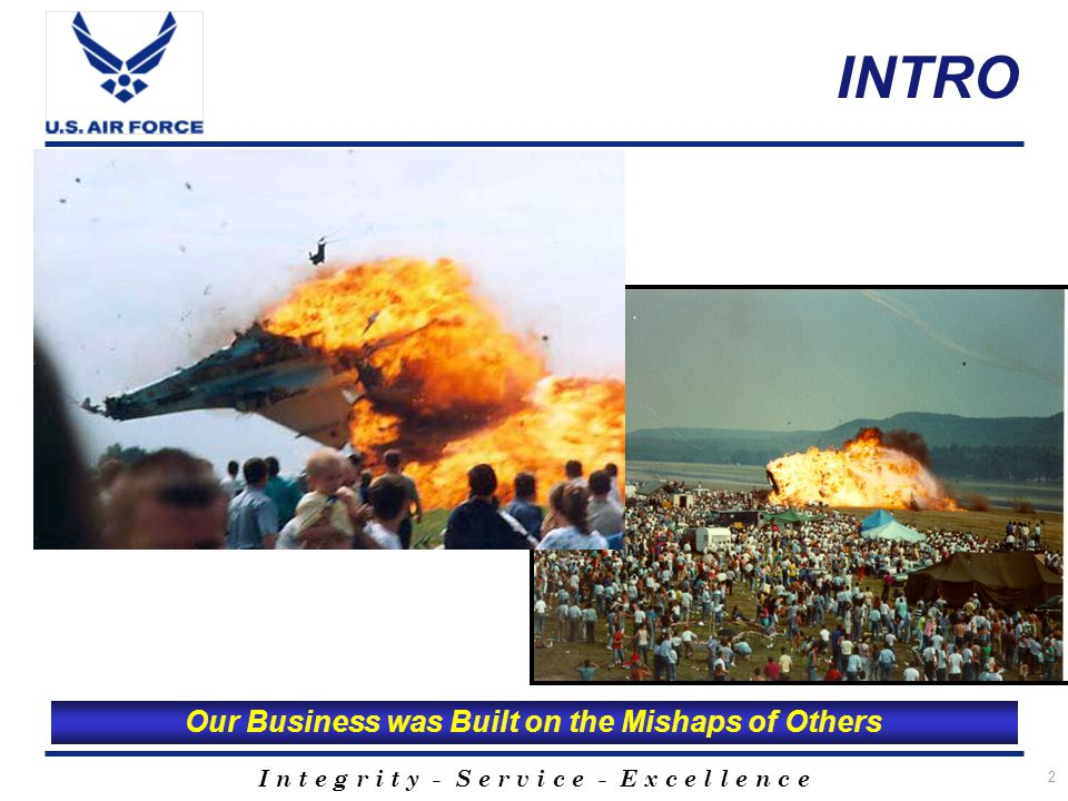 I n t e g r i t y - S e r v i c e - E x c e l l e n c e 3 Overview Governing Directives Aircraft Mishap Review Process HATRs and CMA Violations MACA/BASH Program Web Page Resources