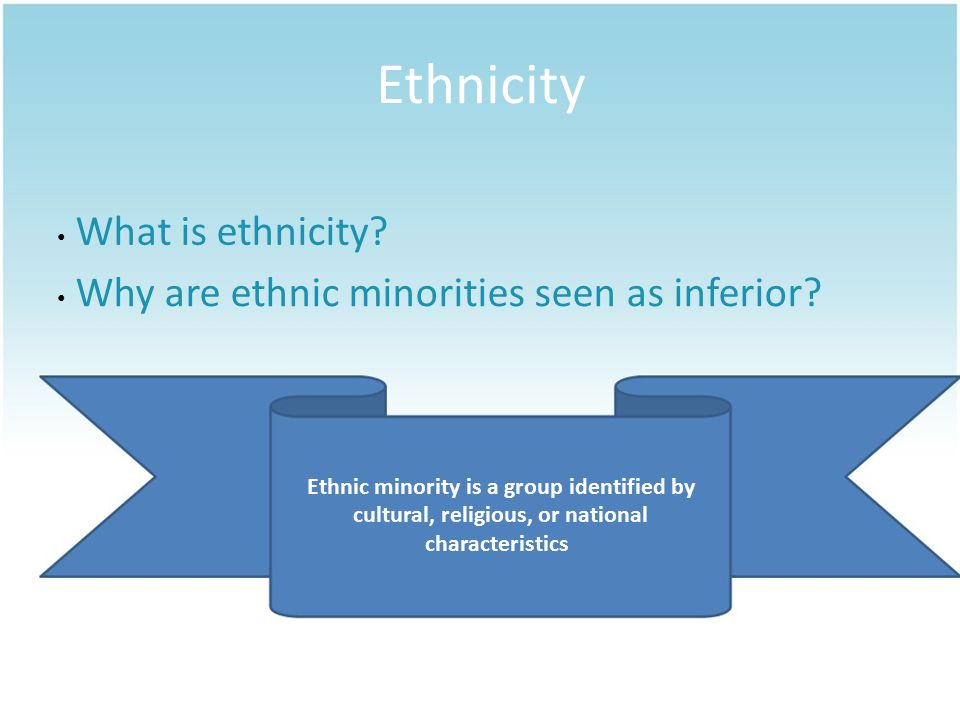Section 2 RACIAL & ETHNIC RELATIONS