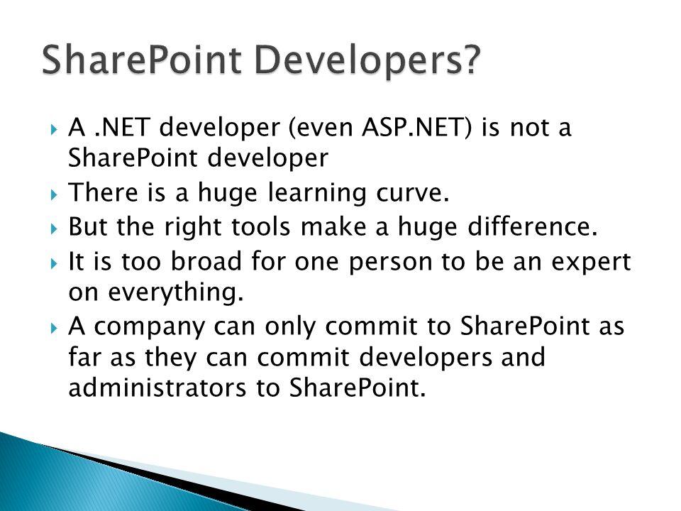  It's a platform, not an application.