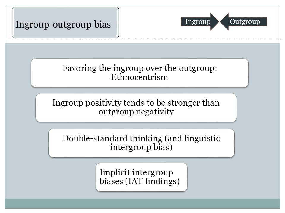 The perceptual tendency to assume that the members of other groups are very similar to each other, whereas the membership of one's own group is more heterogeneous.