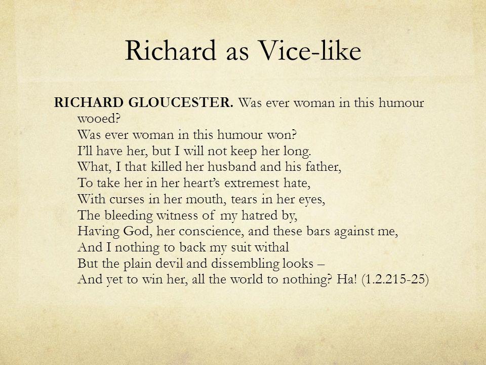 Richard's conscience KING RICHARD.