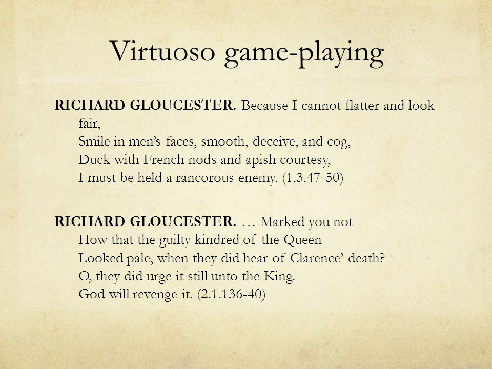 The Tragedy of Richard III.