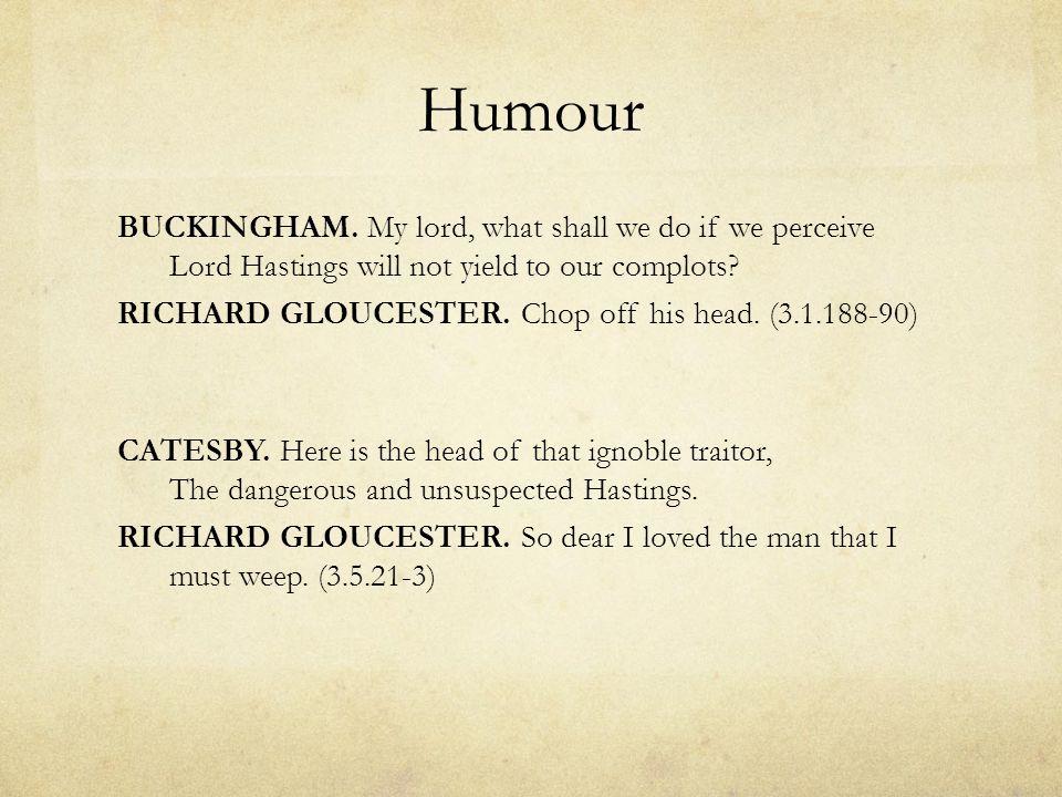 Richard as Jester Jester as 'corrupter of words': BRAKENBURY.