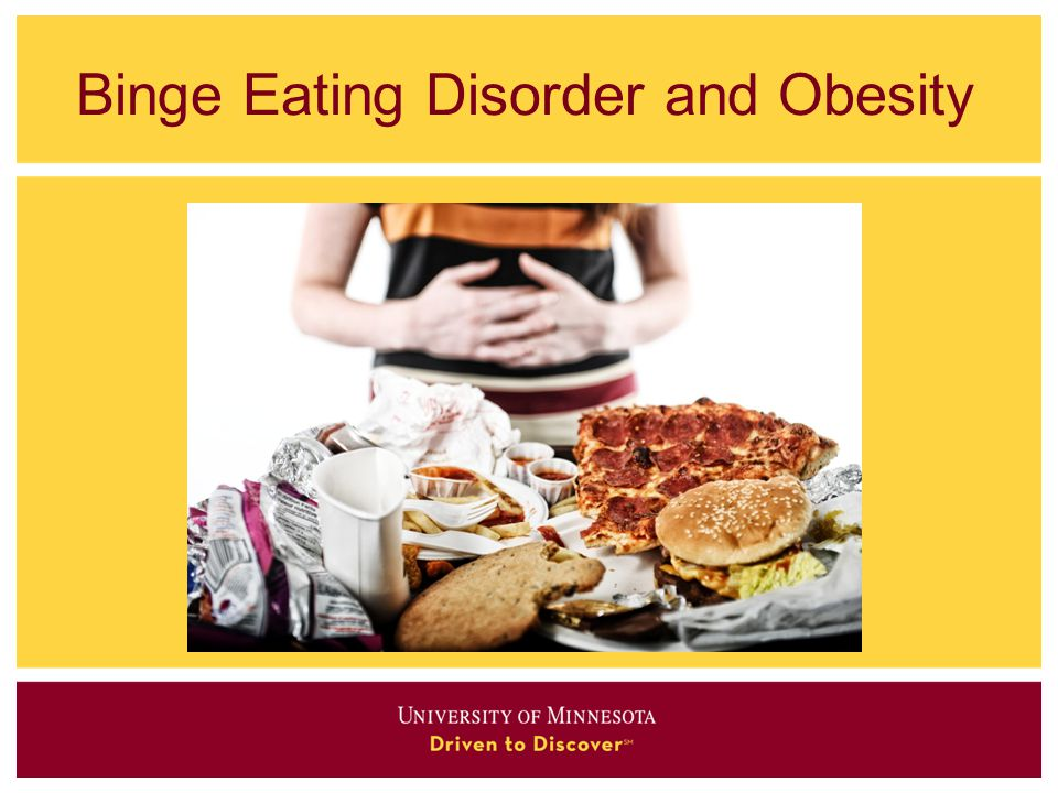 Binge Eating Disorder and Obesity