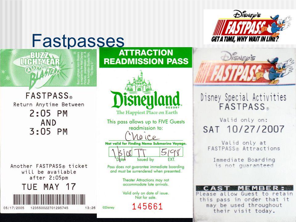 Fastpasses