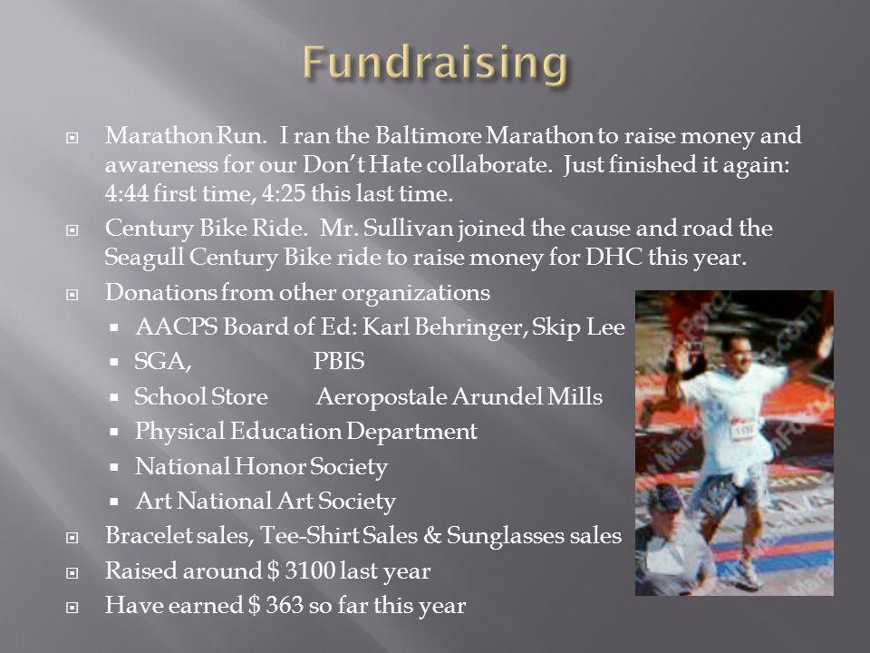  Marathon Run.