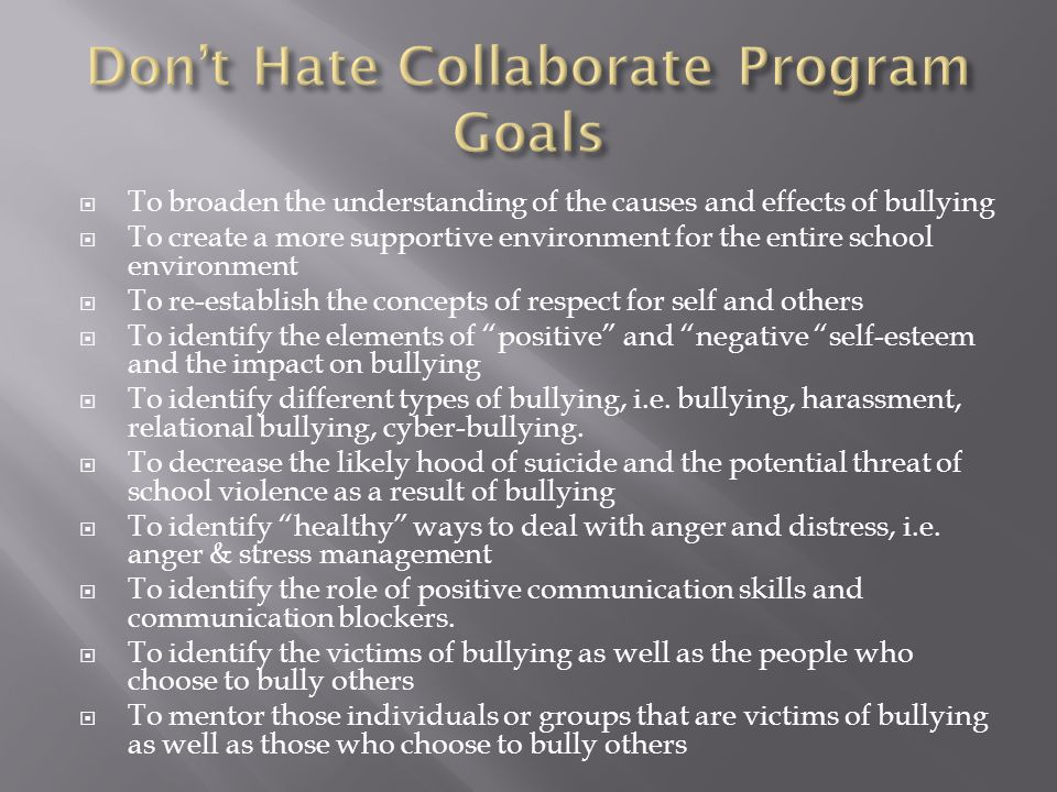  We added to the Health course lesson on Bullying and Harassment and the advisory lessons.