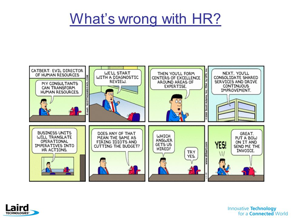 What's wrong with HR?