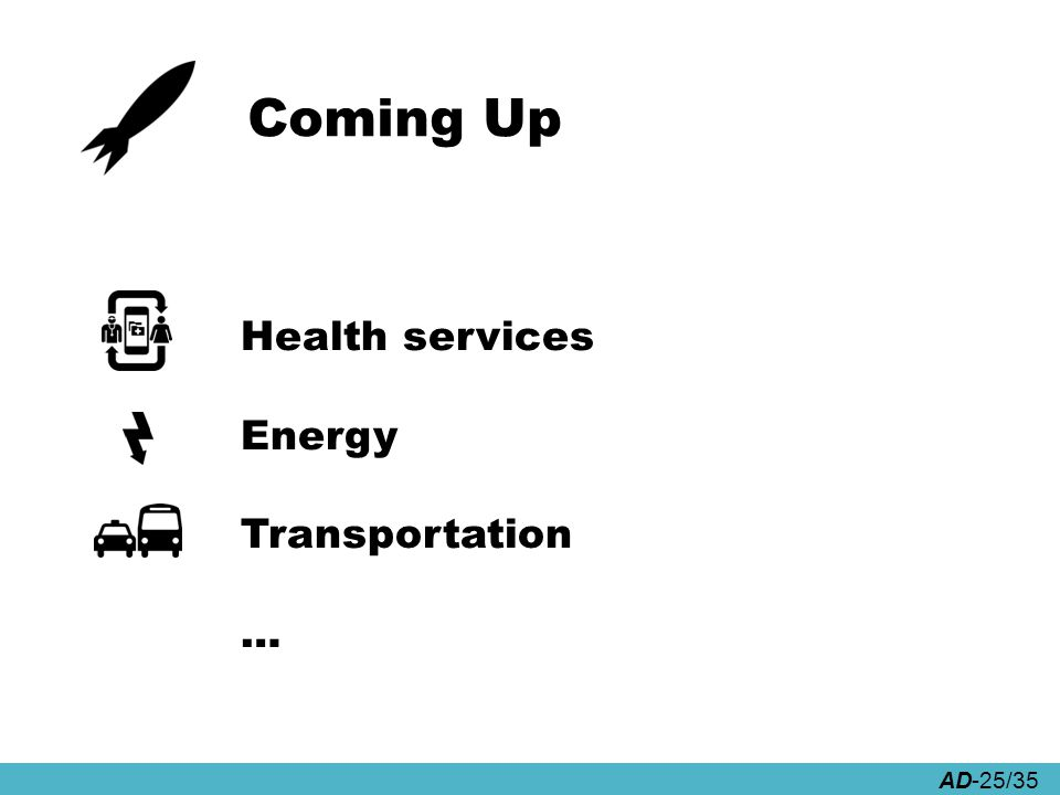 AD-25/35 Coming Up Health services Energy Transportation …