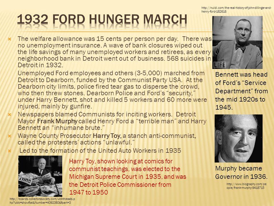 The welfare allowance was 15 cents per person per day.