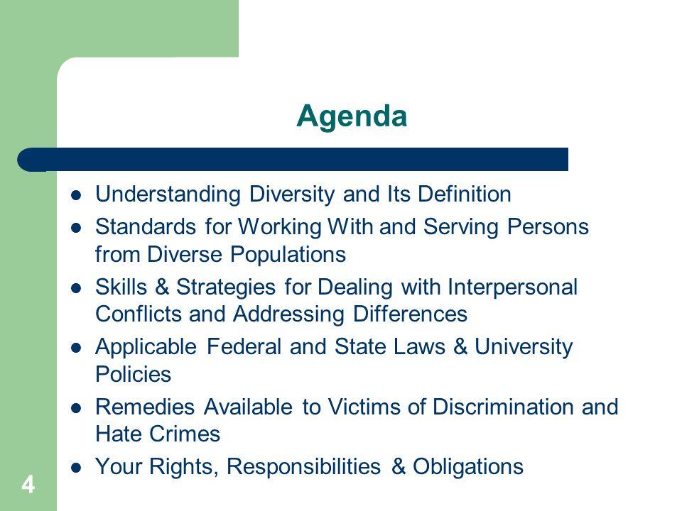 Why Diversity Training.