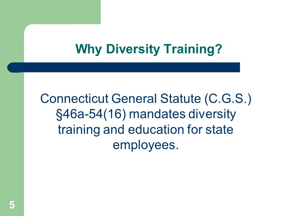UCONN's Definition of Diversity It is understood that the definition of diversity is ever changing and is constantly being ratified.
