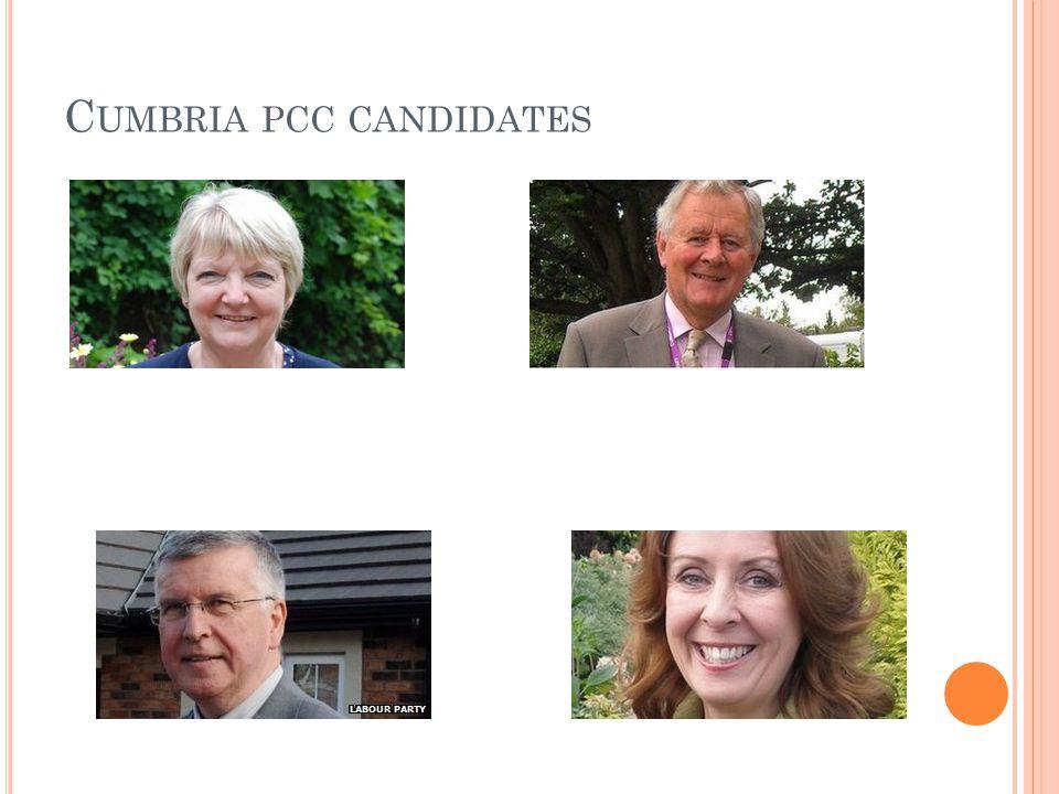 C UMBRIA PCC CANDIDATES