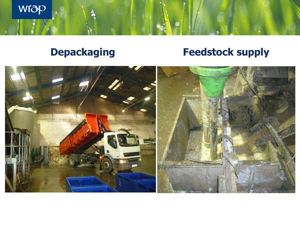 DepackagingFeedstock supply