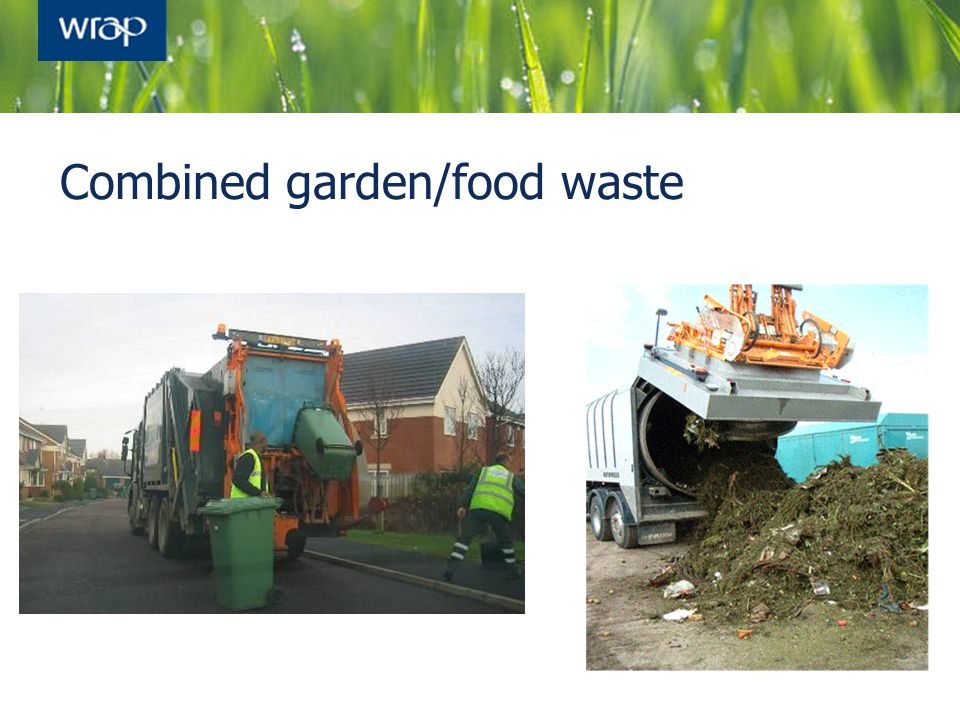 Combined garden/food waste