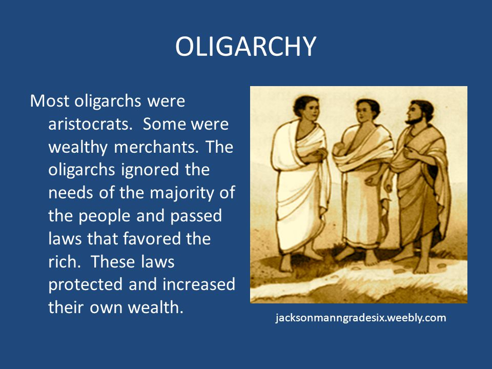 DEMOCRACY Not all Greeks believed that democracy was a good type of government.