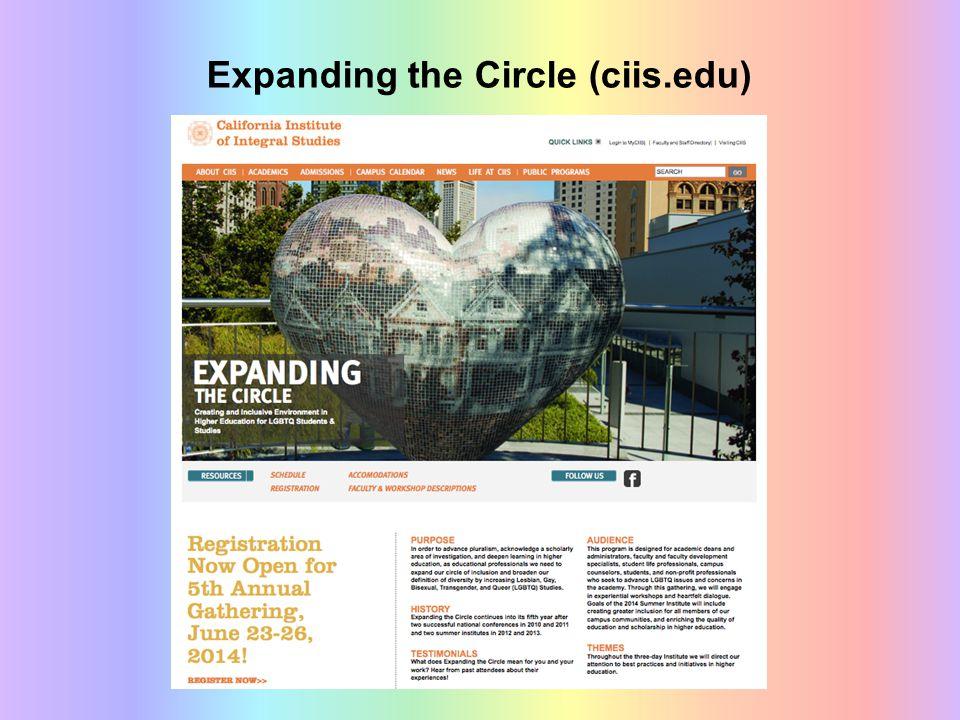 Expanding the Circle (ciis.edu)