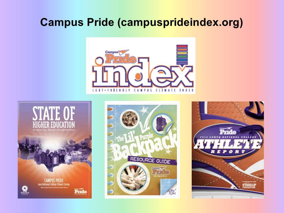 Campus Pride (campusprideindex.org)