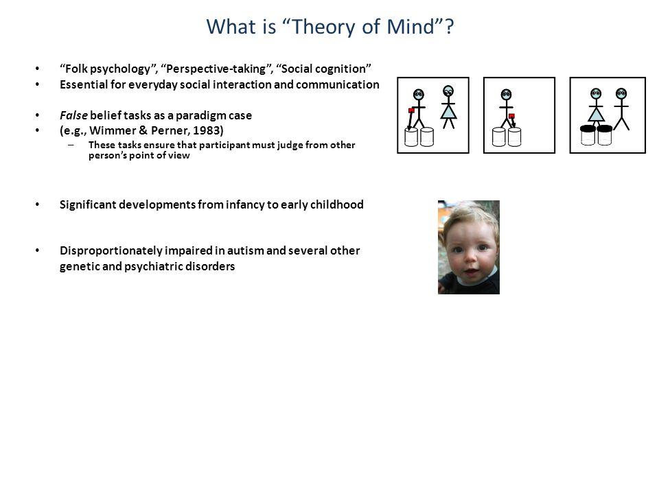 Developmental specialisation of a rTPJ (Gweon et al.